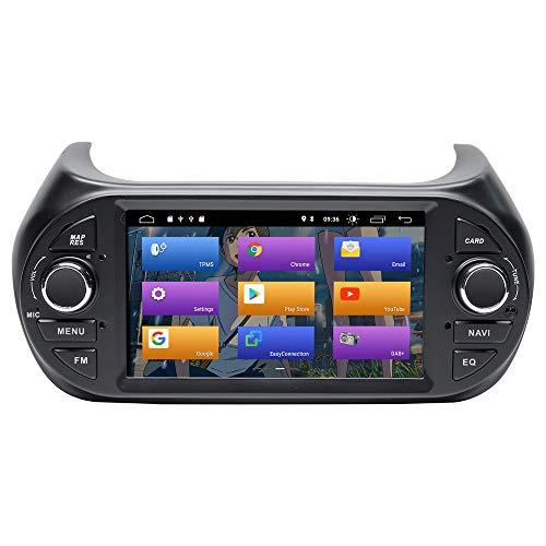 BOOYES per Fiat Fiorino Qubo Citroen Nemo Peugeot Bipper Android 10.0 Double DIN 7'Car Multimedia Navigazione GPS Auto Radio Stereo Auto Auto Play/TPMS/OBD / 4G WiFi/Dab/SWC