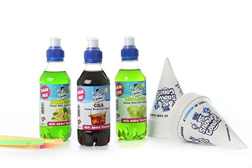 Snowycones - Snow Cone Syrup Flavours The Sugar Free. Hulk x3 x250ml.not...