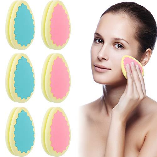6 Stücke Haar Entfernung Schwamm Enthaarung Pads Schmerzloser Haar Entfernung Schwamm für Gesicht, Bein, Arm und Körper