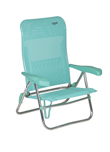 Crespo 1148255 CR - Silla de Playa de Aluminio-205/06, Verde