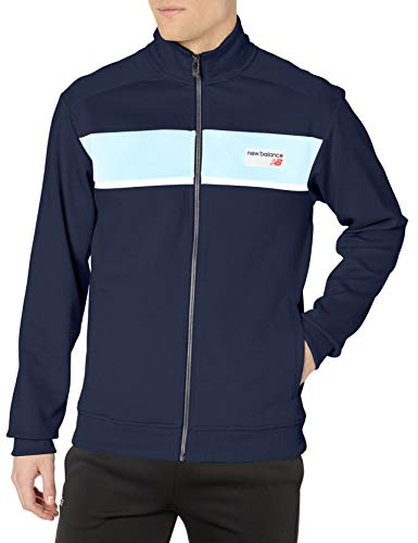 New Balance Herren Jacken/Übergangsjacke MJ81551 Athletics Blau XL