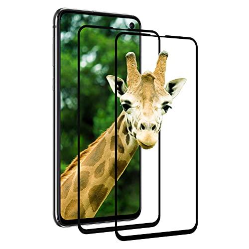 [2 Stück] Panzerglas Schutzfolie für Samsung Galaxy S10E, 2.5D Vollständigen Abdeckung Panzerfolie, 9H Härte, Anti-Bläschen, HD Clear, Anti-Fingerabdruck, Schutzfolie für Samsung S10E - (Schwarz)