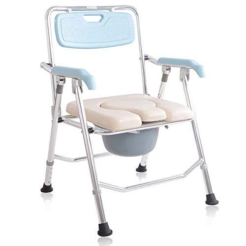 YEDENGPAO Duschstuhl, Klappstuhl Und Toiletteneinfassung, Leicht, Robust, Einfach, Badezimmerunterstützung Für Ältere Senioren, Behinderte, Großeltern