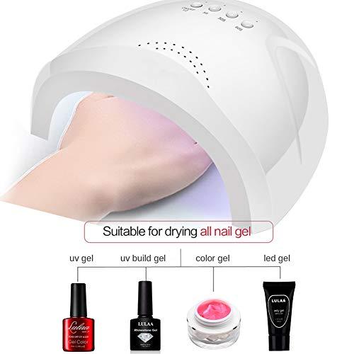 LCYZ Nail Builder Kit Gel Unghie Unghie Lampada UV Unghie Asciugatrice LED Estensione Consigli Unghie Colla Immergere Finitura Basamento Detergente Liquido Plus Strumento Nail