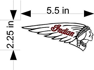 Best indian scout tank decal Reviews