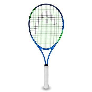 HEAD Ti Conquest Tennis Racket - Pre-Strung Head Light Balance 27 Inch Racquet - 4 1/4 In Grip