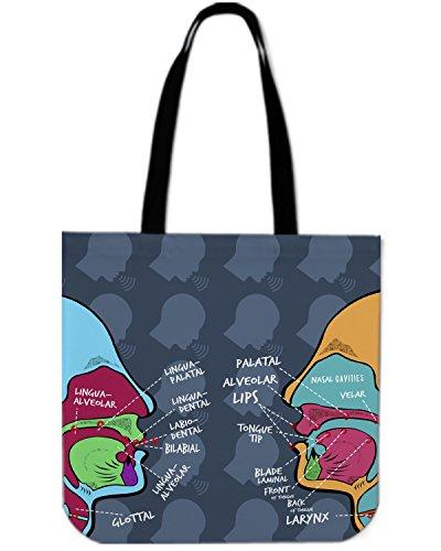 Gnarly Tees Speech Pathologist Linen Tote Bag