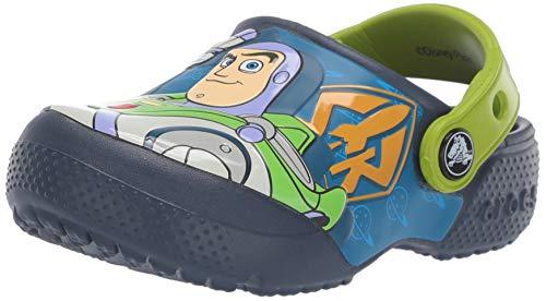 Crocs CrocsFL Buzz Woody Clog K, Zuecos Unisex niño, Azul (Navy 410b), 32/33 EU