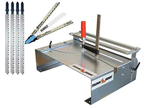 Bosch 014H - Mesa para sierra de calar (incluye 4 hojas de...