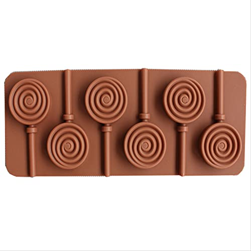 JUHON 2021 New Kitchen Mould Silicone Mold Lollipop Diy Chocolate Mold Cake Decoration Mold