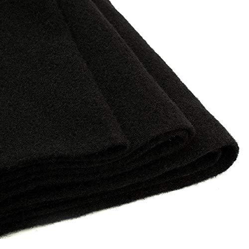 Stinger STLBLK 5Y, schwarzer Bezugsstoff, Bespannstoff, Moquette, kleine Rolle 4,57m / 6,26m² (7,99€/m²)