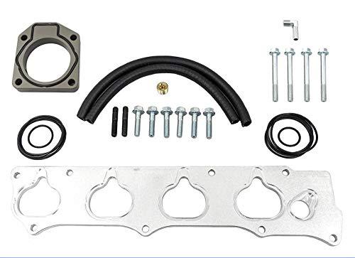 PRL RBC Intake Manifold Adapter Kit for 2012-15 Honda Civic Si w/Stock TB