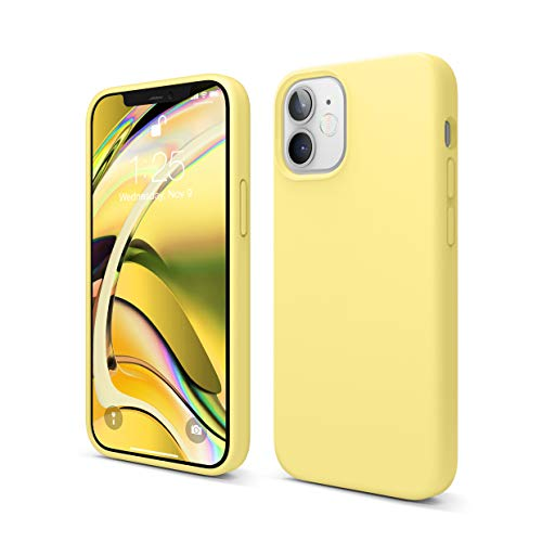 elago Liquid Silicone Hülle Kompatibel mit iPhone 12 Mini Hülle (5,4