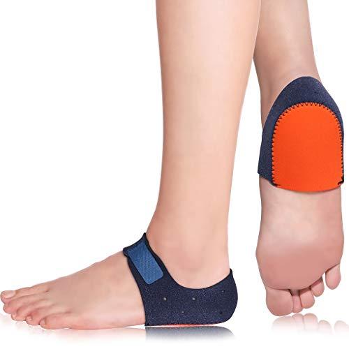 HELLCUP Heel Cushion Protectors, Heel Cups Plantar Fasciitis Treatment Heel Pain Relief Protectors for Heel Spur, Cracked Heels, Achilles Tendonitis, Poron Heel Support Sleeves Seat Wraps, M