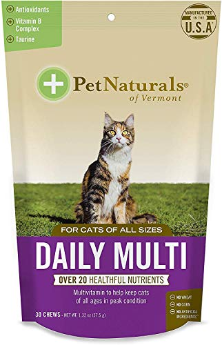 (3 Pack) Daily Multi for Cats, Multivitamin Chew3