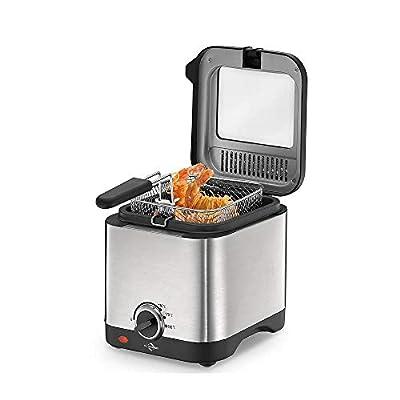 Küchenprofi 1709502800 Mini friteuse en acier inoxydable 18/8