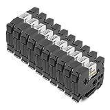 10x Tape Cassette Brother TZe-231 TZ-231 Negro sobre Blanco 12mm x 8m Para Tze Tape Brother P-Touch PT-1000 P700 GL-H100 GL-H105 GL-200 PT-1080 PTE-550WVP PT-P700 PT-H300 PT-1005 PT-1010 PT-1090 PT-1200