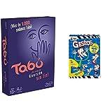 Hasbro Gaming Tabú Gaming Clasico Juego De Mesa, Multicolor, 26.7 X 20.1 X 5.1 + -Gestos Juego De Mesa, Multicolor (B0638105)