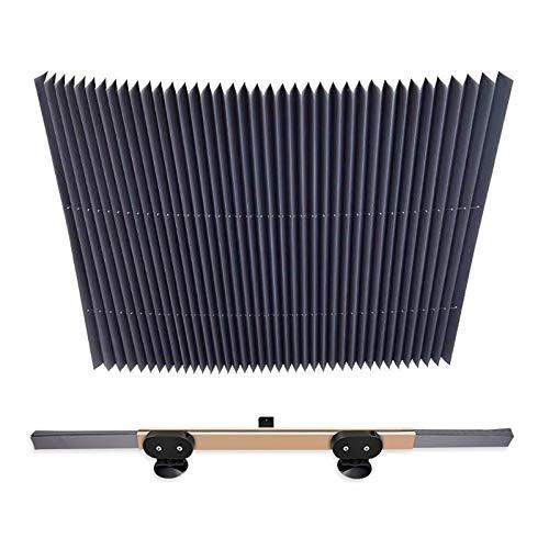 PXQ Parabrisas 46-80Cm Parasol Cubierta, automática retrác