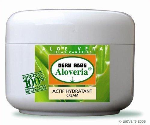 ALOVERIA® ACTIF HYDRATANT CREME - mit 30% purem Aloe Vera und Urea