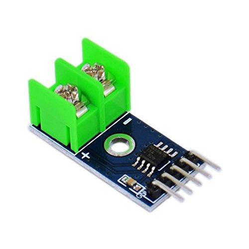 Modulo MAX6675 - SODIAL(R) Modulo MAX6675 + modulo de sensor de termopar de tipo K para Arduino