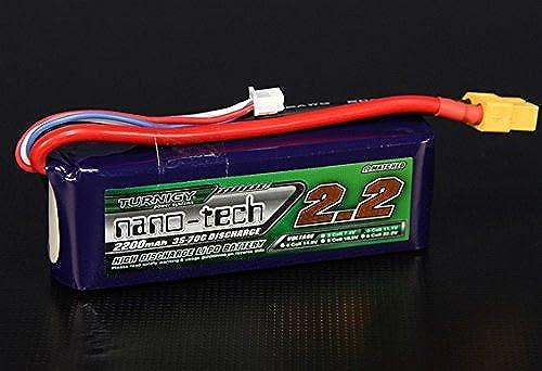 hermoso Turnigy nano-tech 2200mah 3S 3570C Lipo Pack Pack Pack by Turnigy  precioso
