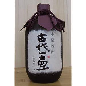 """100%古酒 本格焼酎 古代一壺 (こだいいっこ)38度 720ml"""""""