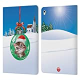 Head Case Designs Officiel Animal Club International Chat Boules de Noël Coque en Cuir à...