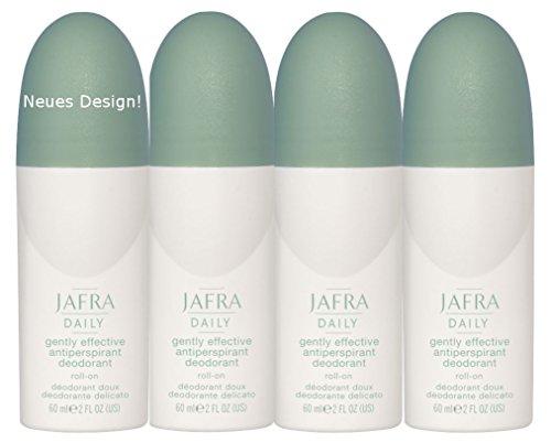 Jafra Deo Roller Antiperspirant - 4er SET
