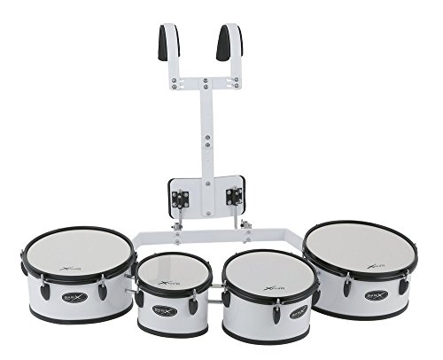 BASIX F893210 Marcheren Quad Tom Set, 8 x 8/10 x 8/12 x 8/13 x 8-Inch