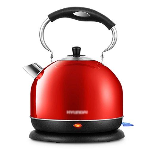 Bouilloire électrique 3 litres d'alimentation automatique domestique haute capacité en acier inoxydable Bouilloire d'eau