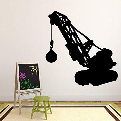 Tianpengyuanshuai Zerstören Sie Ballbau Gebäude Wandtattoo Wohnzimmer Vinyl Aufkleber Kinderzimmer Kinderzimmer Schlafzimmer Dekoration 45X48cm