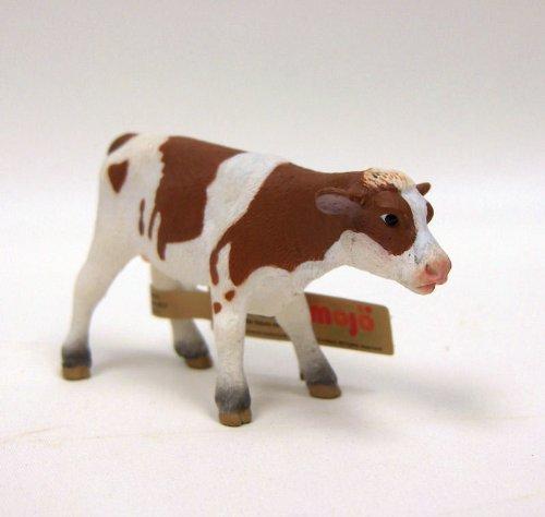 Mgm - 387100 - Figurine Animal - Veau Marron Debout - 7,5 X 4,5 Cm