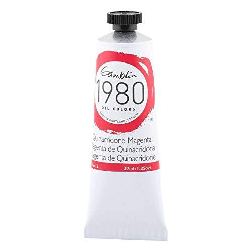 Gamblin 1980 Oil Quin Magenta 37Ml