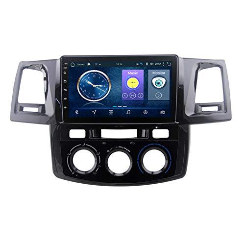 DMMASH Autoradio Car Stereo Satellite Navegador GPS de 8 Pulgadas para Toyota Fortuner 2007-2015 Estéreo,GPS USB SD FM Bluetooth Control del Volante, Enlace de Espejo,MT,4 Cores 4G+WiFi:2+32G