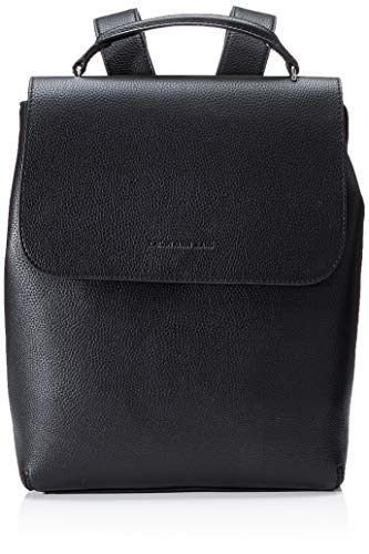 Calvin Klein Damen Ckj Ultra Light Flap Bp 35 Rucksack, Schwarz (Black), 1x1x1 cm