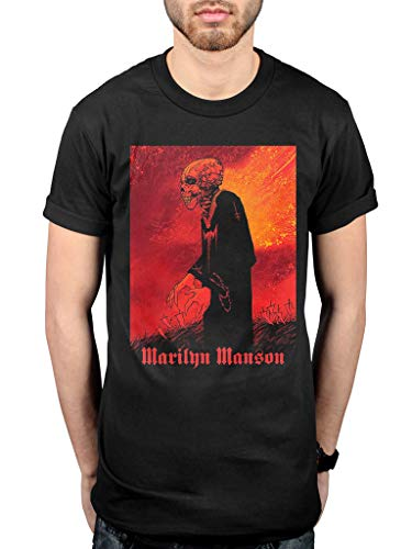 Official Marilyn Manson Mad Monk T-Shirt