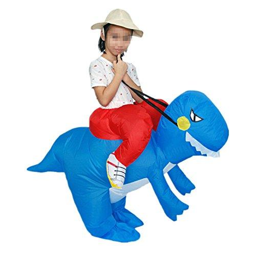 Prettycos Inflable Traje Divertido para Ninos Disfraces Hinchable Dinosaurio Cosplay para Fiesta