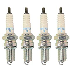 top 10 motorcycle spark plug Spark plug NGK5129 4 pieces (DPR7EA-9)