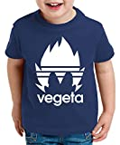 Photo de Adi Vegeta T-Shirt pour Enfants Son Dragon Master Ball Goku Turtle Roshi DB, Kinder T-Shirt Größe:152-164 (12-14 Ans), Kinder Farben:Bleu foncé