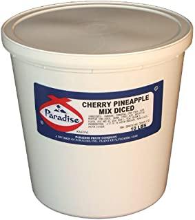 Paradise Whole Cherry, Diced Pineapple Mix, 10 Pound Tub