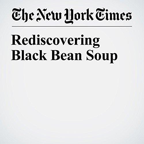 Rediscovering Black Bean Soup copertina