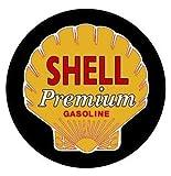 Shell Gasoline Ver. 2 Printed 5 Inch Sticker Decal Die Cut Sticker Graphic - Car Sticker Laptop Sticker
