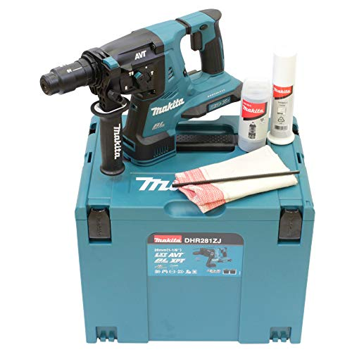 Makita DHR281ZJ (36V) Twin 18V Li-Ion LXT Brushless Rotary Hammer SDS-Plus Supplied in A Makpac Case - Batteries and Charger Not Included