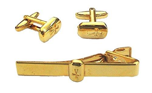 fashionjewellery4u -  Coordinato - Uomo Oro Gold Taglia unica