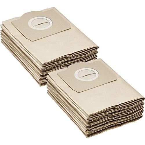 Kärcher 6.959-130.0 Papierfilterbeutel, 2er Pack (2 x 5 Stück)