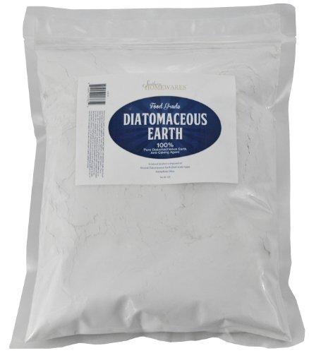 Southern Homewares Diatomaceous Earth Food Grade (Fresh Water Type) 2lb Zipper Bag Codex DE (0.2)