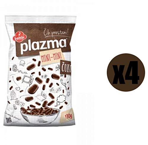Plazma Keks (Keks mit Schokolade, 4 x 170 gr)