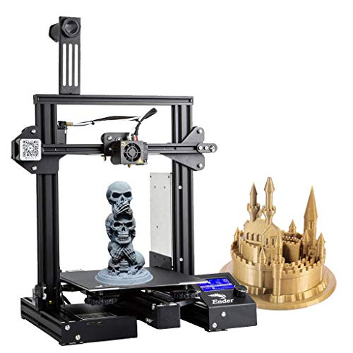 Creality3D Ender 3 Pro 3D Printer Upgrade Ender Series Desktop DIY 3D Printers with Removable Magnetic Build Surface Plate and UL Certified Power Supply 220x220x250mm