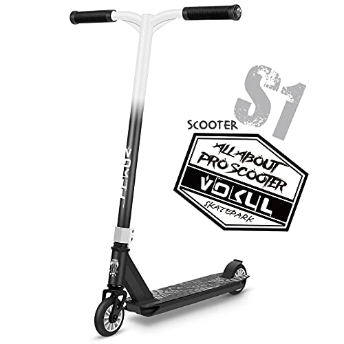 VOKUL Intermediate and Beginner Stunt Scooter - Freestyle Kick Scooter for Kids, Teens, and Adults